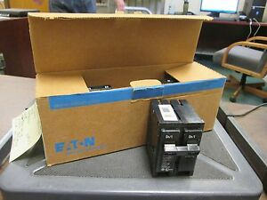 Cutler hammer Br Circuit Breaker Br290 90a 120 240v 2p box Of 5 New Surplus