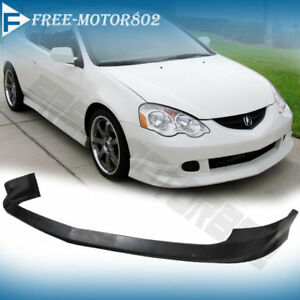 For 02 04 Acura Rsx 2dr A spec Style Front Bumper Lip Spoiler Bodykit Urethane
