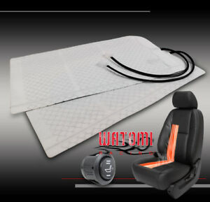 Universal Heated Seat Heater Pads Kit Round Hi Low Switch Crown Victoria Canyon