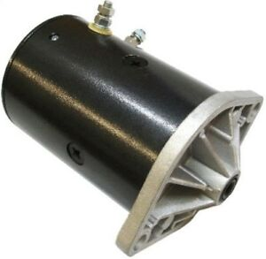 Snow Plow Motor Lift Pump Fits Western Two Post Design Dedicated Ground Post