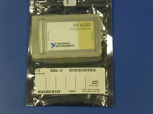 National Instruments Daqcard 4050 Multimeter Card Pcmcia Ni Dmm Daq