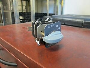 Allen bradley Rotary Switch X475633 4 position Used