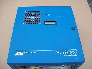 Accu sort Systems Accuvision Decoder Apc100