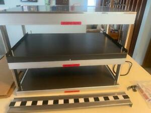 Hatco Double Shelf Pass Thru Food Display Warmer Merchandiser Grsdh 30d