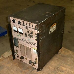Sensarc Es350 350a Gas Metal Arc Welding Power Source Es350 ryu2 pzb