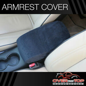 Chevrolet Tahoe D3r Black Armrest Cover For Console Lid 2002 2004