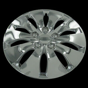 New For 16 Honda Accord Chrome Center Hub Caps Wheel Rim Cover Replacement