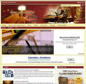 home Improvement Turnkey Website For Sale turnkeypages