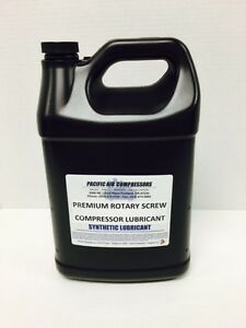 144046 005 Quincy 8000 Hour 1 Gallon Synthetic Rotary Air Compressor Oil 2015 46