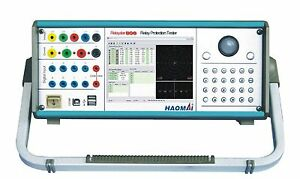 Haomai Electric Relaystar 806 3 phase Relay Tester 3x40a 4x150v