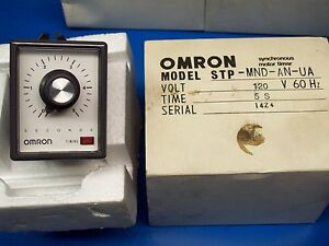 new Omron Synchronous Motor Timer Stp mnd an ua
