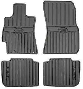 2010 2014 Subaru Legacy Outback All Weather Rubber Floor Mats Black Oem