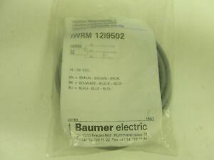 New Baumer Electric Iwrm 12i9502 Proximity Sensor