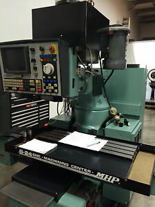 Mhp S 24 Cnc Vertical Milling And Machining Center Ohio