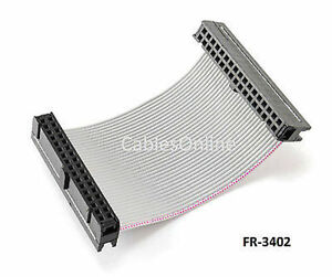 2 Inch 34 pin 2x17 pin 2 54 pitch Female 34 wire Idc Flat Ribbon Cable Fr 3402
