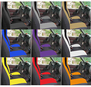 Fits Ford Ranger Car Seat Covers 60 40 Seat W Highback Backrest Console Cove