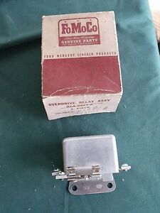 Nos Ford 1956 Mercury T Bird Overdrive Relay Fomoco 56