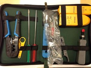 Cable Tool Kit Wire line Tracker Finder Tester Crimper Tone Generator Probe Set