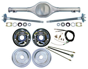 Currie 82 97 S 10 Blazer Rear End 10 Drum Brakes Lines Parking Cables Axles