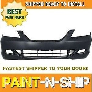 New 2005 2006 2007 Honda Odyssey Touring Fog Front Bumper Painted Ho1000223