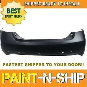 Fits 2007 2008 2009 2010 2011 Toyota Camry Se 4cyl Rear Bumper Painted