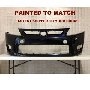 Fits 2011 2012 Scion Tc Front Bumper Painted To Match Your Car sc1000108