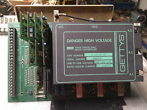 Getty s Dc Drive 350 33 Amp Model 11 1015 15