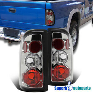 For 1997 2004 Dodge Dakota Replacement Tail Lights Brake Lamps Clear Lens