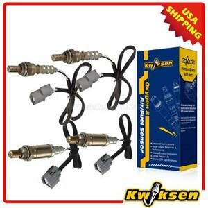4x Oxygen Sensor O2 Combo 15175 15630 For 00 04 Land Rover Discovery 4 0l 4 6l