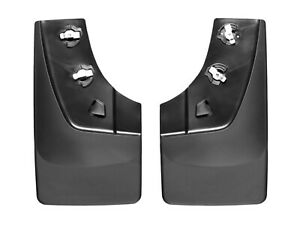 Weathertech No drill Mudflaps For Gmc Sierra 2014 2018 2015 2019 Hd Rear Pair