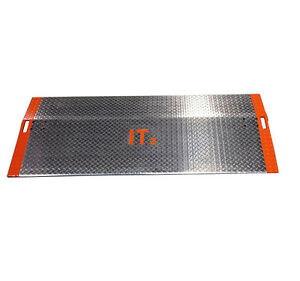 60 X 72 Aluminum Pallet Jack Loading Dock Plate Ramp 1 705 Lb Capacity a6072