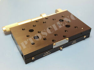 Newport 436 Precision Linear Translation Stage With Sm 50 Micrometer