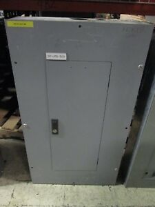 Challenger Main Circuit Breaker Panel Pm1a 225a Main Ced3225 208y 120v 3ph 3w