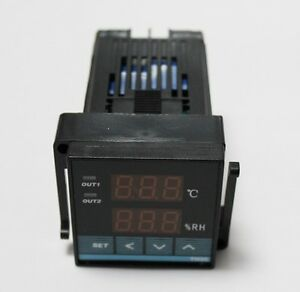 48 48mm Digital Temperature Controller And Digital Humidity Controller Th20