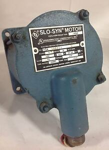 Superior Electric 120v 06a 72 Rpm Slo syn Explosion Proof Motor X186004