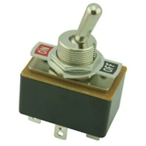 Robust Toggle Switch Spst With On off Markings
