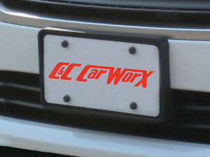 Front License Frame Bracket By C c Carworx For 2015 16 17 Subaru Legacy Ls 15 fp
