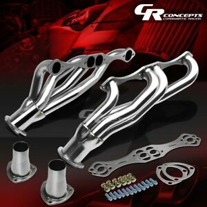 Stainless Clipster Header Manifold Exhaust For Nova Impala Small Block Sbc V8