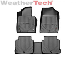 Weathertech Floor Mats Floorliner For Sonata Optima 1st 2nd Row Black