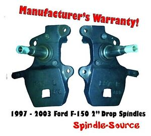1997 2003 Ford F 150 F150 2 Inch Drop Spindles 97 02 Expedition Navigator