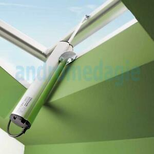 Actuator Fast 500n 230v Spindle Top hung Out Skylights Solar Shading Domes