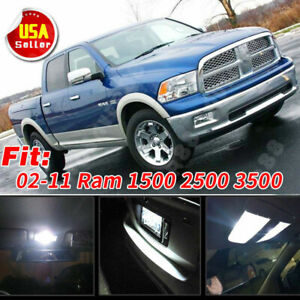 12pcs T10 42mm Led Bulb Package Kit For 02 11 Dodge Ram 1500 Dome License Lights