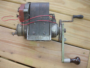 Old Vtg Bosch Magneto Type Du4 Ed 7 V4 Patd Oct 17 05 Made In Usa