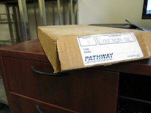 Pathway Single Sided Exit Sign Ldx1cr dl 120 277v Led Red New Surplus