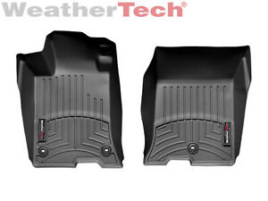 Weathertech Floor Mats Floorliner For Acura Tlx 2015 2010 1st Row Black
