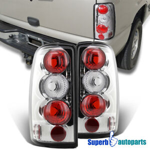 2000 2006 Suburban Tahoe Yukon Denali Tail Lights Brake Lamp Chrome