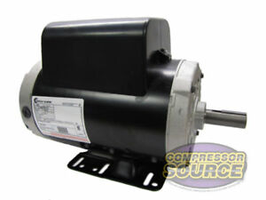 New 5 Hp 3450 Rpm Air Compressor 60 Hz Electric Motor 208 230 Volts Century B386