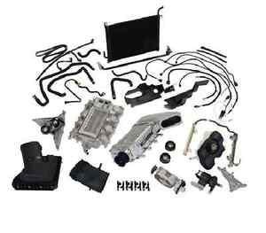 2011 2012 2013 2014 Mustang Gt 5 0 Ford Racing Supercharger Kit Polished 525 Hp