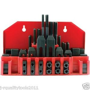 3 8 Clamp Clamping Bolt T Nut Hold Down Kit Set For Metal Milling Machine Tool
