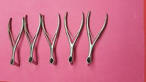 Lot Of 6 Vienna Nasal Speculum 5 3 4 small Ent Instruments Premium Grade